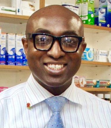 Ade Williams is a pharmacist at Bedminster Pharmacy, Bristol