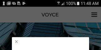 VOYCE app